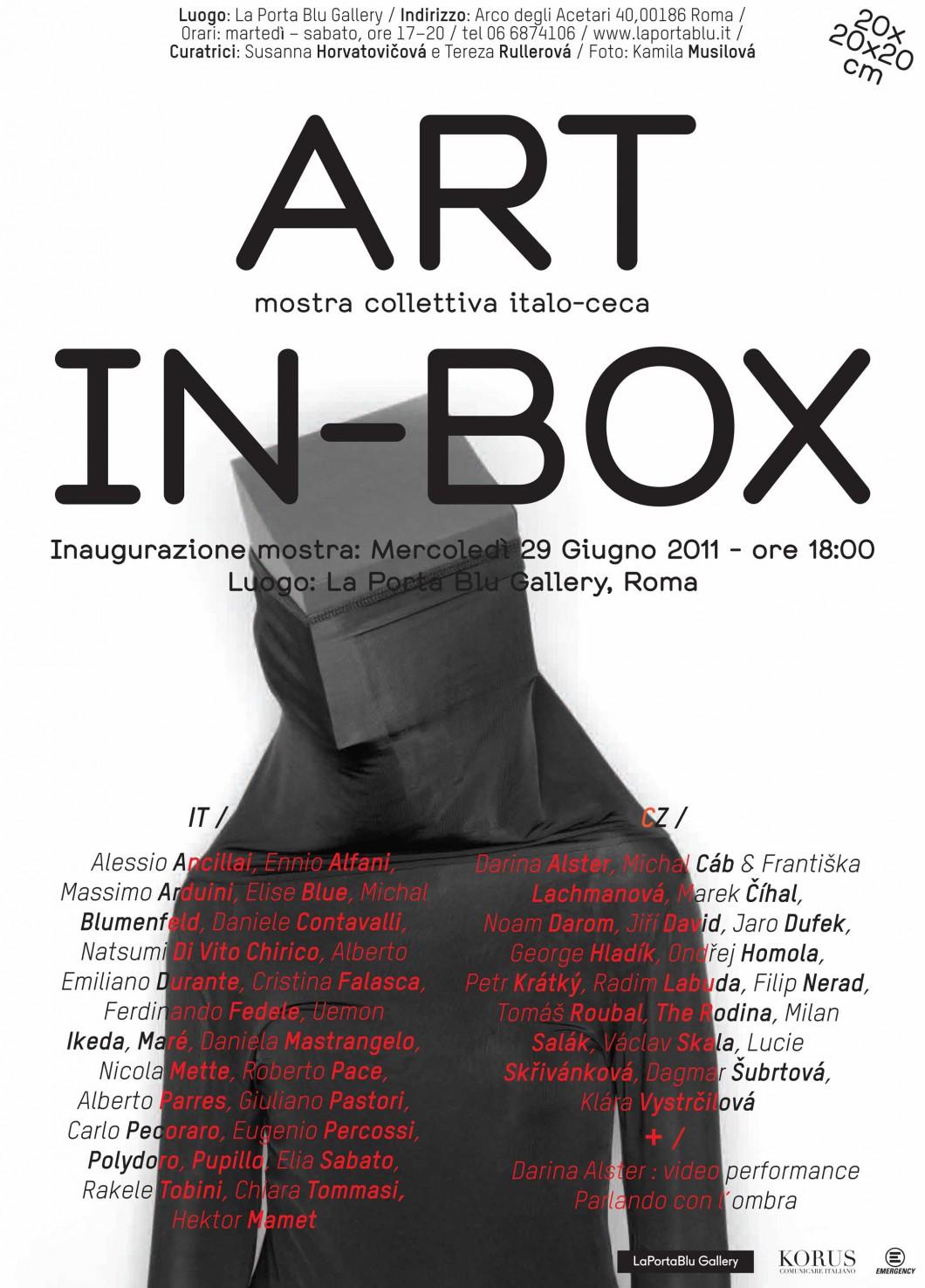 """Collettiva """"Art in box"""" 06.06.2011"""