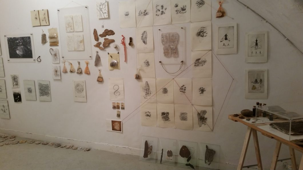 """Maisie McNeice """"Archived vestiges"""""""