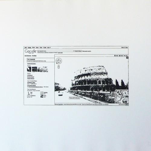 "Carlo Pecoraro ""Etching view street"" 2009"