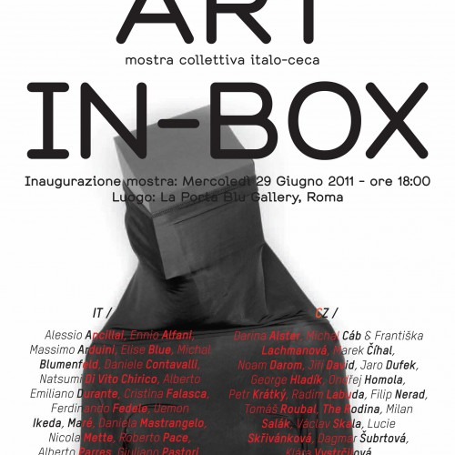 "Collettiva ""Art in box"" 06.06.2011"