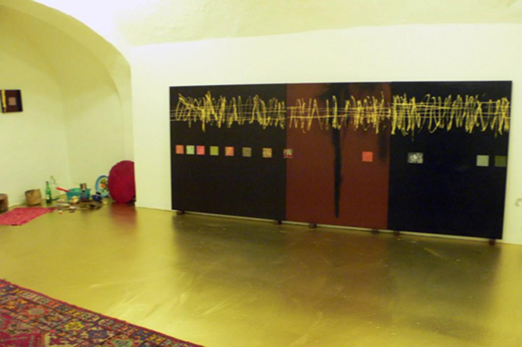 """Alberto Parres """"La Scimmia (nascosta dietro l'asino nascosto dietro l'albero)"""" 06.10.2007"""